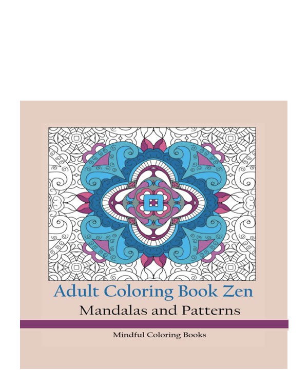 Mandala Adult Coloring Book