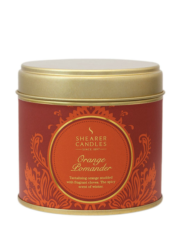 Orange Pomander Scented Candle