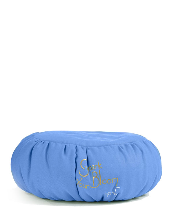 Blue Deluxe Meditation Cushion