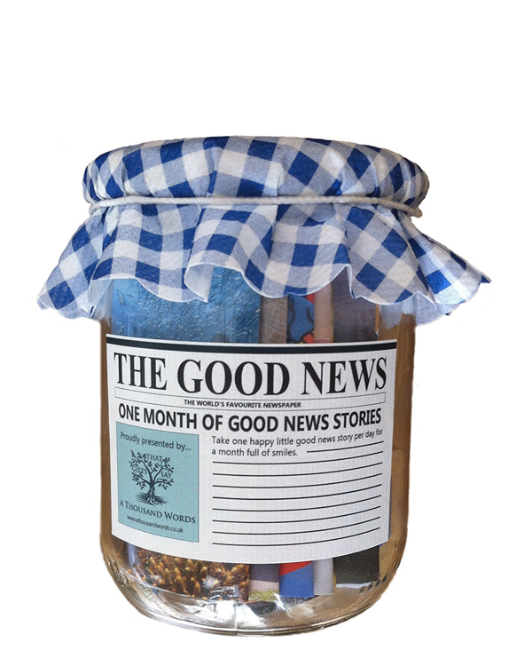 The Good News Paper Jar