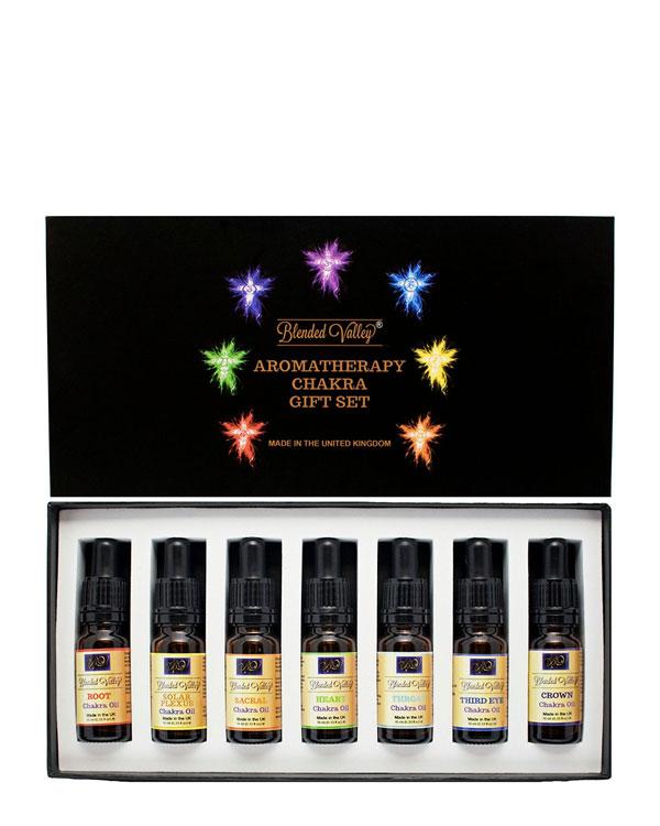 Essential Oils Chakra Set