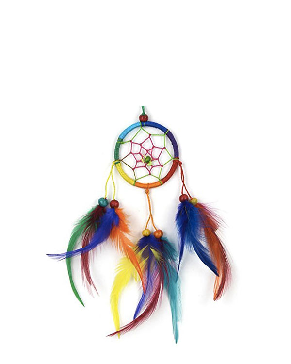 Dream Catcher in Rainbow Colors