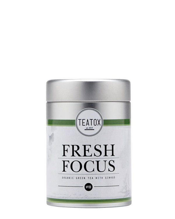 Fresh Focus Green Tea with Ginkgo and Ginseng