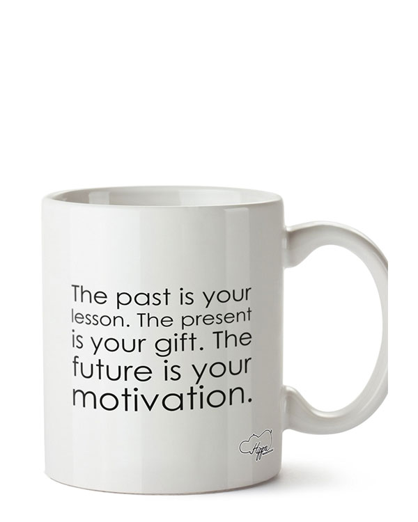The past is your lesson Mug