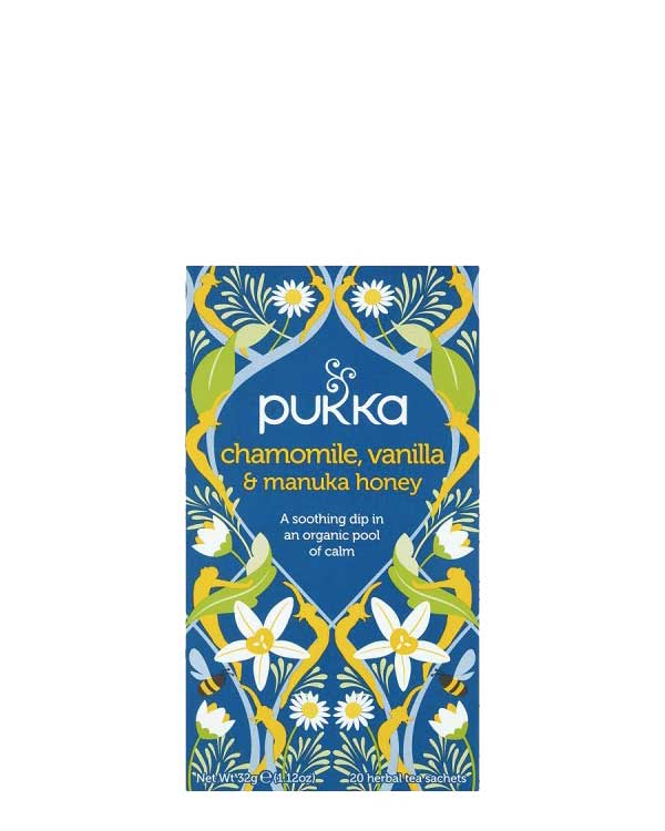 Chamomile Vanilla and Manuka Honey Tea