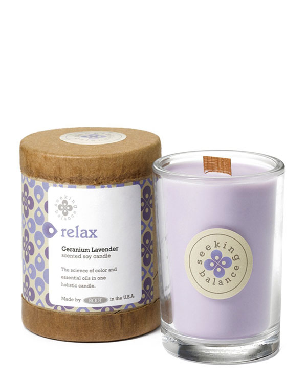 Aroma and Colourtherapy Candle