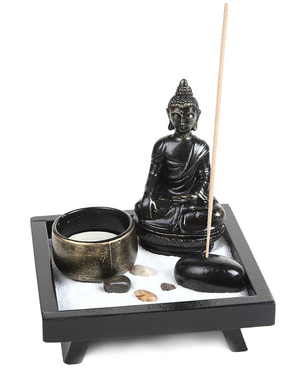 Buddha Candle and Incense Holder
